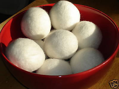 XL Wool Dryer Balls Natural laundry Softener TRUSTED since 2007 Super Well Made