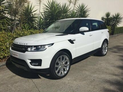 2014 Land Rover Range Rover LW Sport 3.0 TDV6 SE White 8 Speed Automatic Wagon
