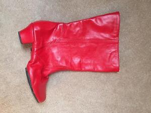Red boots for sale