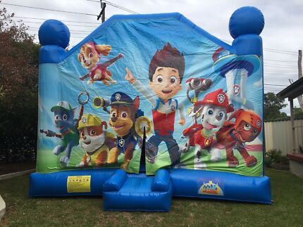Paw patrol 5 in 1 jumping castle & all your party hire needs