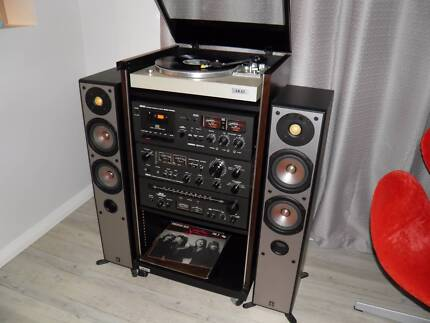 Vintage (1979) Akai HiFi stereo system, excellent condition, rare