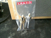 Ed Staker figures from UFO Shado Dinky toy figures 1/43 scale to match car corgi