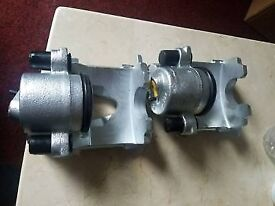 Golf mk4 front brake caliper set