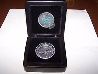 VERY RARE AND UNIQUE BOEING 787 DREAMLINER COMPASS AND COIN SET