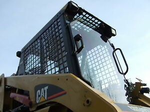 "Skid Steer Doors + Enclosures 1/2"" Lexan Case Bobcat CAT ASV N.H"
