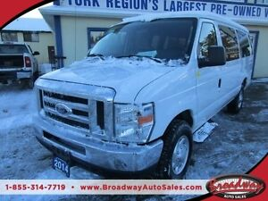 2014 Ford E350 PEOPLE MOVING XL EDITION 15 PASSENGER 5.4L - V8 E