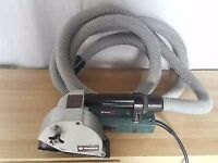 Metabo mf30 wall chaser and bosch dust extractor