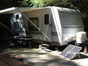 Solar Panels for Your RV or Camper!