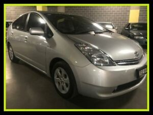 2007 Toyota Prius NHW20R Silver Constant Variable Liftback Campbelltown Campbelltown Area Preview