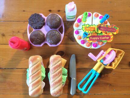 Kitchen playfood - toys, games