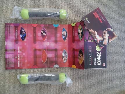 ZUMBA Exhilarate 7 DVD kit