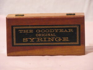 Wooden box - Goodyear Original Syringe Peterborough Peterborough Area image 1