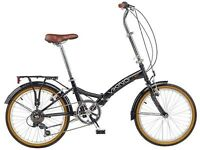 Cool Retro Fold-up Bicycle - like new! Bargain foldup bike as trying to sell soon