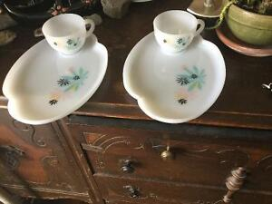 Vintage Tea trays and cups