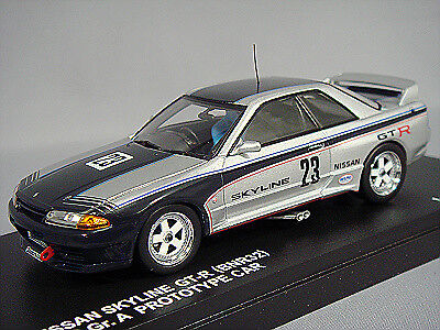 Carnel 1:43 Nissan Skyline GT-R R32 1989 Gr.A Proto Type Car #23 from Japan