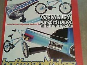 Matt Hoffman Evel Knievel BMX Limited Wembley Edition