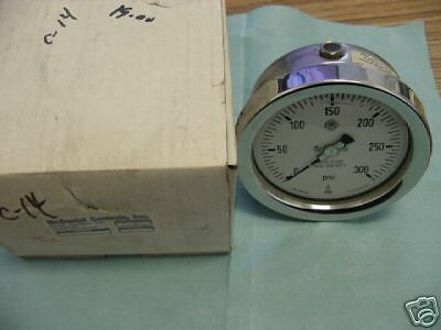 Mcdaniel Controls Fgi Glycerin Filled Pressure Gauge. New Old Stock