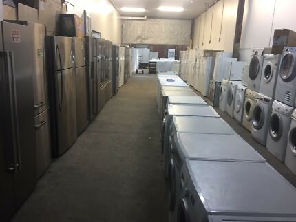 ** SECOND HAND WHITE GOODS SALE) WARRANTY DELIVERY TEST&TAGGED