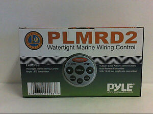Pyle PLMRD2 Water Light Marine Remote Control