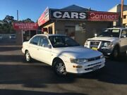 1994 Toyota Corolla AE94 CSi Ltd White 4 Speed Automatic Sedan Edgeworth Lake Macquarie Area Preview