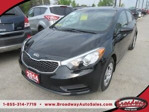 2014 Kia Forte FUEL EFFICIENT LX MODEL 5 PASSENGER 1.8L 4 CYL EN