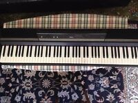 Korg SP170 Digital Piano with stand