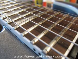 Learn Fret Dressing, Refretting and more this Fall!