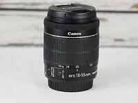 Canon 18-55mm STM IS Lens..used once to test.