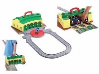 Thomas shed£20 used vgc/brand new edward train£5