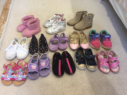 GIRLS SHOES BUNDLE 13 x size 5, 6 & 7
