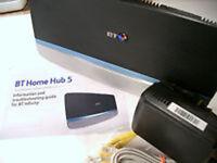 BT Home Hub 5 Dual Band Wireless AC Gigabit Router 2.4GHz & 5GHz