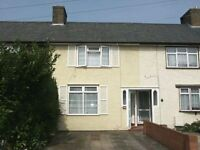 Two Bed Room House near Becontree Tube Station, Driveway , Garden, Spacious Double rooms, Wardrobes