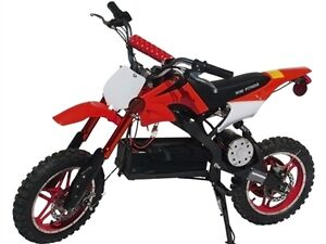 New Electric Dirt Bike 1000W Motor 36V Battery High / Low Speed