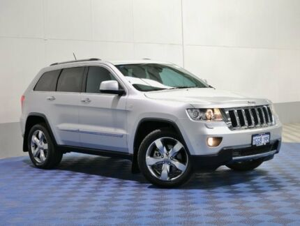 2013 Jeep Grand Cherokee WK MY13 Limited (4x4) Silver 5 Speed Automatic Wagon East Rockingham Rockingham Area Preview