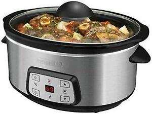 LARGE CAPACITY BLACK AND DECKER SLOW COOKERS -- MAKE DELICIOUS MEALS FOR 7 PEOPLE !!