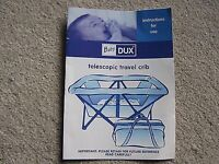 Baby Dux Travel Cot