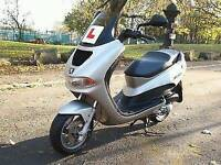 2003 Peugeot Elyseo 100 Scooter, Moped, Low Milage, Year MOT