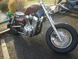 bobber/chopper for sale good runner rides really nice good bike for anyone just starting............