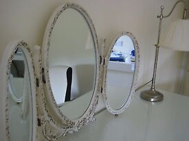 french louis dressing table mirror