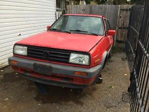 1992 Volkswagen Jetta (Parting Out)