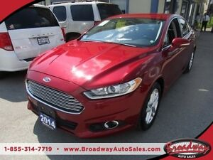 2014 Ford Fusion LOADED SE EDITION 5 PASSENGER 1.5L - ECO-BOOST.