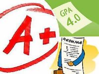 Professional Essay Editing, Resume/Cover Letter Writing, & more!