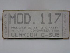 CLARION-CAVI-RICAMBIO-CARICATORI-PROLUNGA-CD-MOD-117-nuovo