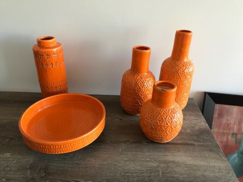 Orange Vases Vases Bowls Gumtree Australia Mornington