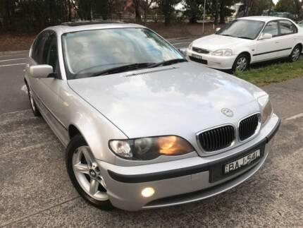 Luxury 2002 BMW 320i M Sport LOW KS LOGBOOKS 2Keys LONG REGO Mags