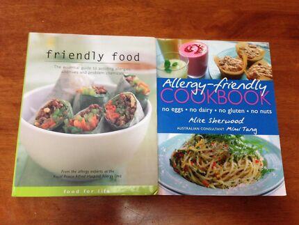 Allergy-friendly cookbooks