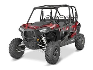 2016 Polaris RZR 4 900 EPS Matte Sunset Red