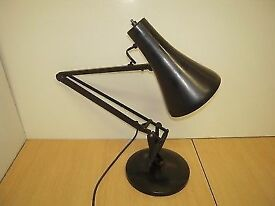 Vintage Herbert Terry & Sons industrial The Anglepoise lamp model 90