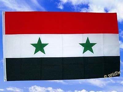 Fahne Flaggen SYRIEN 150x90cm TDShop24
