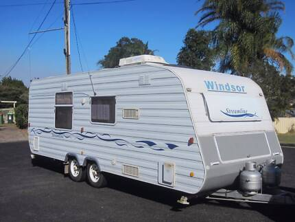 2003 Windsor Streamline 21 ft Caravan with full ensuite